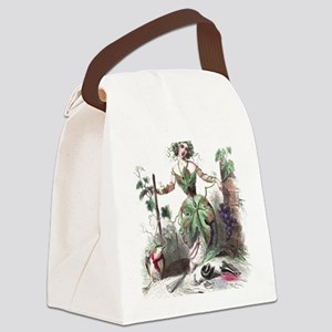 Grape Canvas Lunch Bag