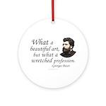 Bizet Music Quote Keepsake Ornament