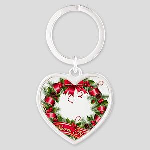 buon natale Heart Keychain