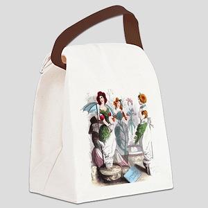 Florist Canvas Lunch Bag