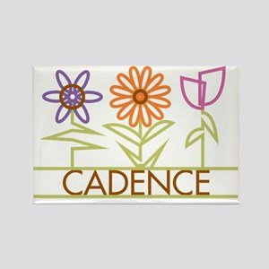 CADENCE-cute-flowers Rectangle Magnet