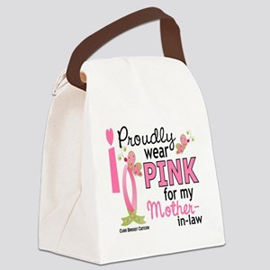 - Pink for My Mother-In-Law Canvas Lunch Bag