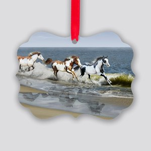 toiletry bag Picture Ornament