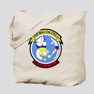 ZRS-5 USS MACON US NAVY Airship for scout Tote Bag