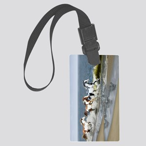 nook sleeve copy Large Luggage Tag