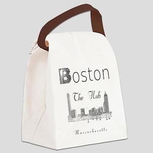 Boston_12_12_Wmn_plusv_Skyline_Th Canvas Lunch Bag