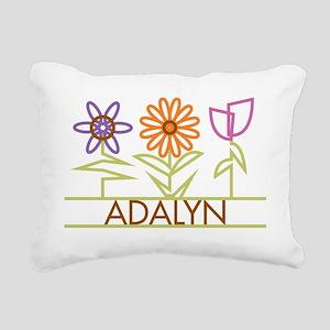 ADALYN-cute-flowers Rectangular Canvas Pillow