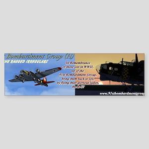 91st BG - Banner Sticker (Bumper)