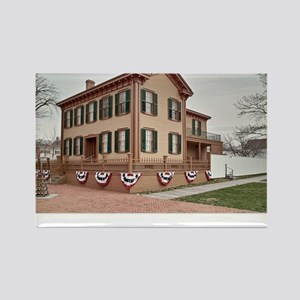 16x20 the lincoln home Rectangle Magnet