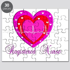Registered Nurse PINK HEART 2011 Puzzle