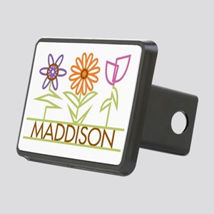 MADDISON-cute-flowers Rectangular Hitch Cover