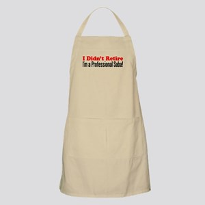 Didn't Retire Professional Saba Light Apron