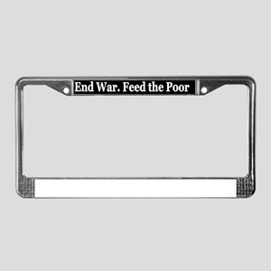 aendwr License Plate Frame
