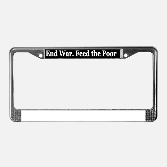aendwr License Plate Frame
