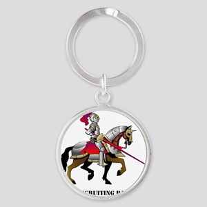 DUI - Miami Recruiting Battalion wi Round Keychain