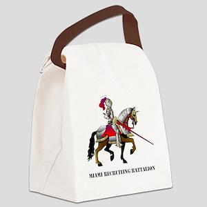 DUI - Miami Recruiting Battalion  Canvas Lunch Bag