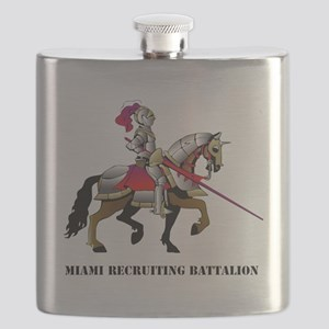 DUI - Miami Recruiting Battalion with text Flask