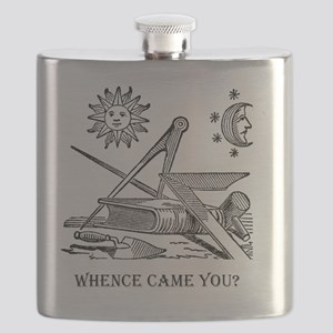 Whence Came You? Logo Flask