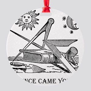 Whence Came You? Logo Round Ornament