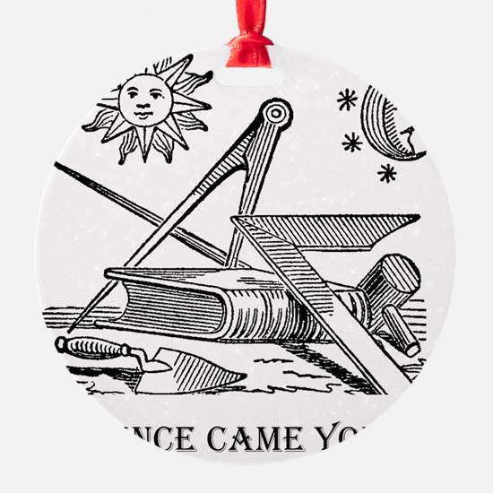 Whence Came You? Logo Ornament