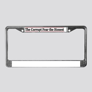 afercoor License Plate Frame
