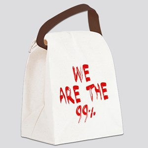 we are 99 paint Canvas Lunch Bag