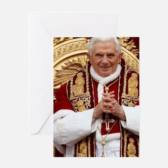 benedict jounral Greeting Card