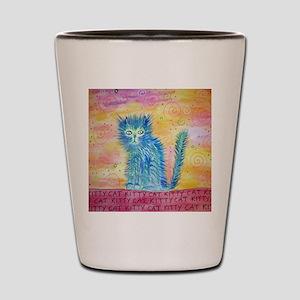 kittycat Shot Glass