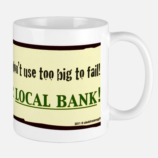 corporate support your bank coffee larg Mug