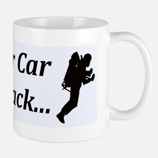 MY OTHER CAR IS A JETPACK Mug