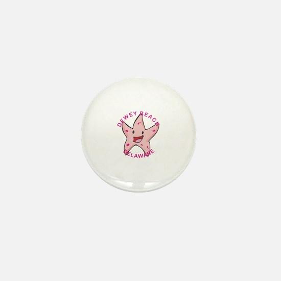 Funny Dewey beach Mini Button