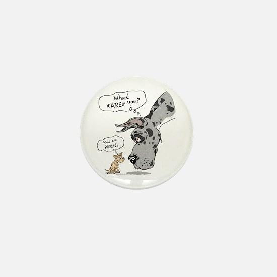 Merle Dane WhatRU Mini Button