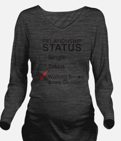 army_doctorCP Long Sleeve Maternity T-Shirt