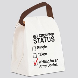 army_doctorCP Canvas Lunch Bag