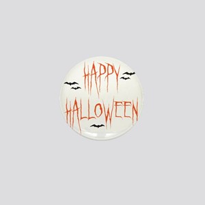 happyhallo copy Mini Button