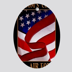 FREEDOM 11x14 USAF Oval Ornament
