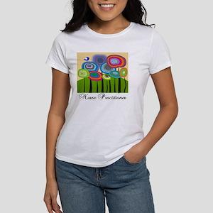 Nurse Practitioner ARTSY TREES Women's T-Shirt