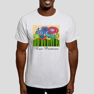 Nurse Practitioner ARTSY TREES Light T-Shirt