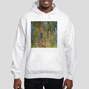 Klimt Crucifix Pillow Hooded Sweatshirt