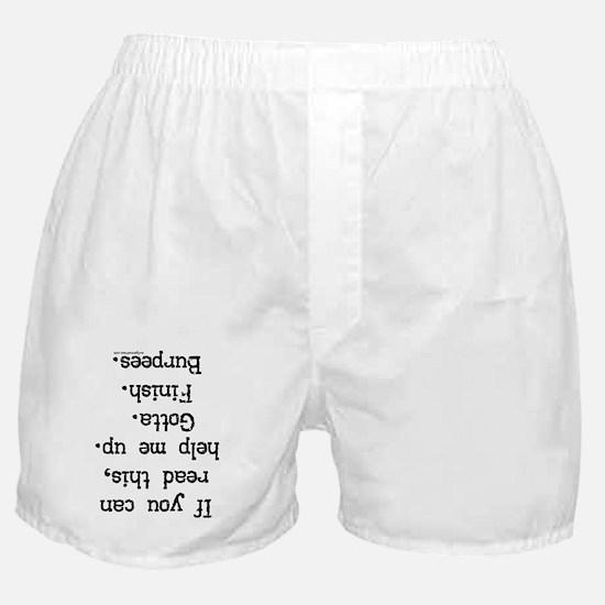 burpees Boxer Shorts