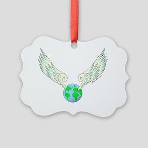 GSFlyingEarth001 Picture Ornament