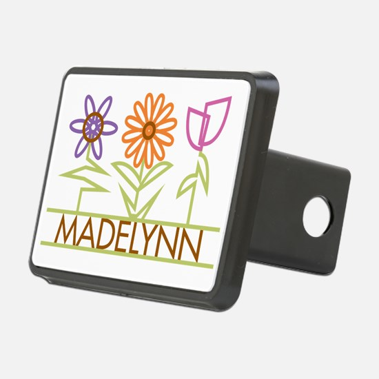 MADELYNN-cute-flowers Hitch Cover
