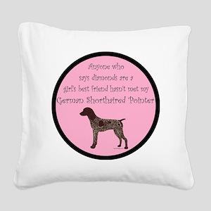 GSPColorGBF Square Canvas Pillow