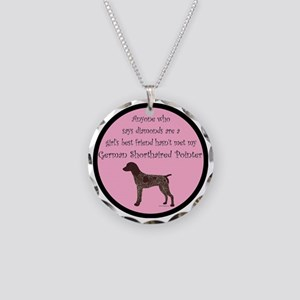 GSPColorGBF Necklace Circle Charm