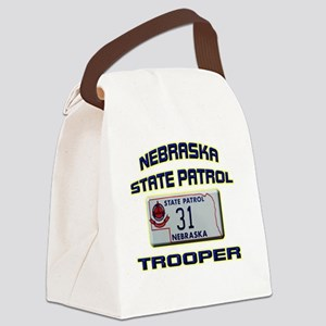 NEBRASKAPLATE Canvas Lunch Bag