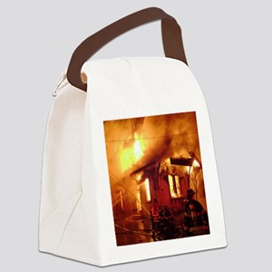 Fireman 09 Canvas Lunch Bag