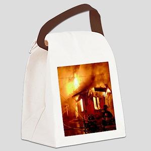 Fireman 09 Canvas Lunch Bag