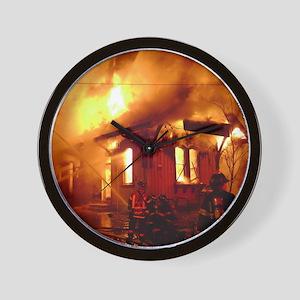 Fireman 09 Wall Clock