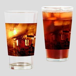 Fireman 09 Drinking Glass