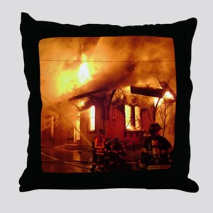 Fireman 09 Throw Pillow